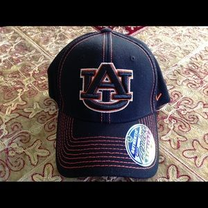Auburn War Eagles Stretch Fit Authentic Zephyr,NWT